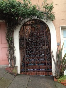 Russian Hill Gate