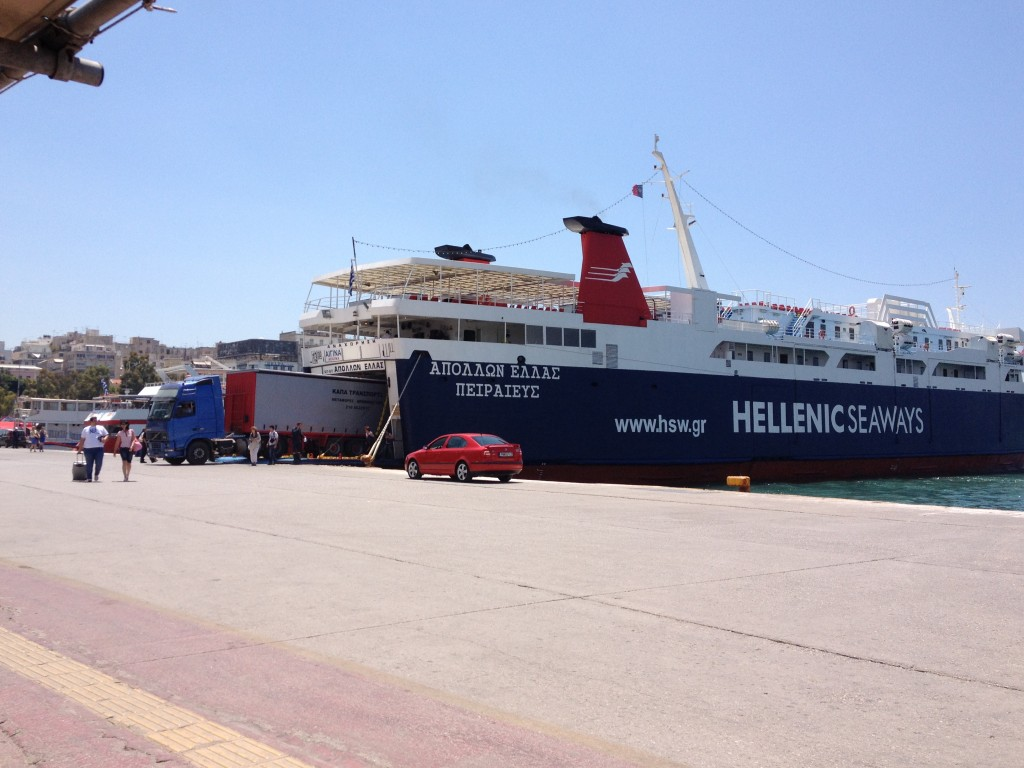 Hellenic Seaways Ferry Port of Pireaus