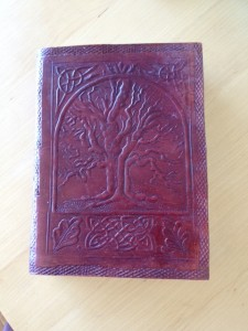Stamped Leather Book