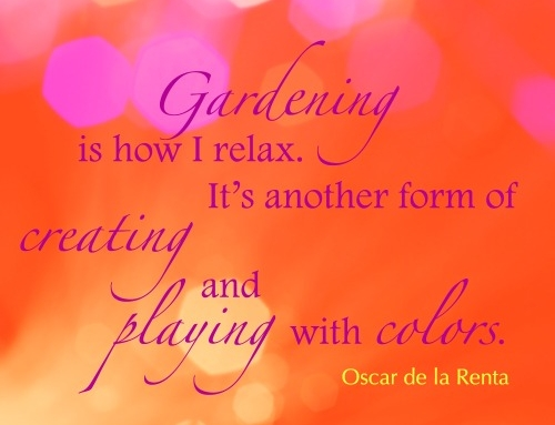How do you relax and create?