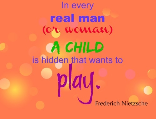 Do you let your inner child out to play?