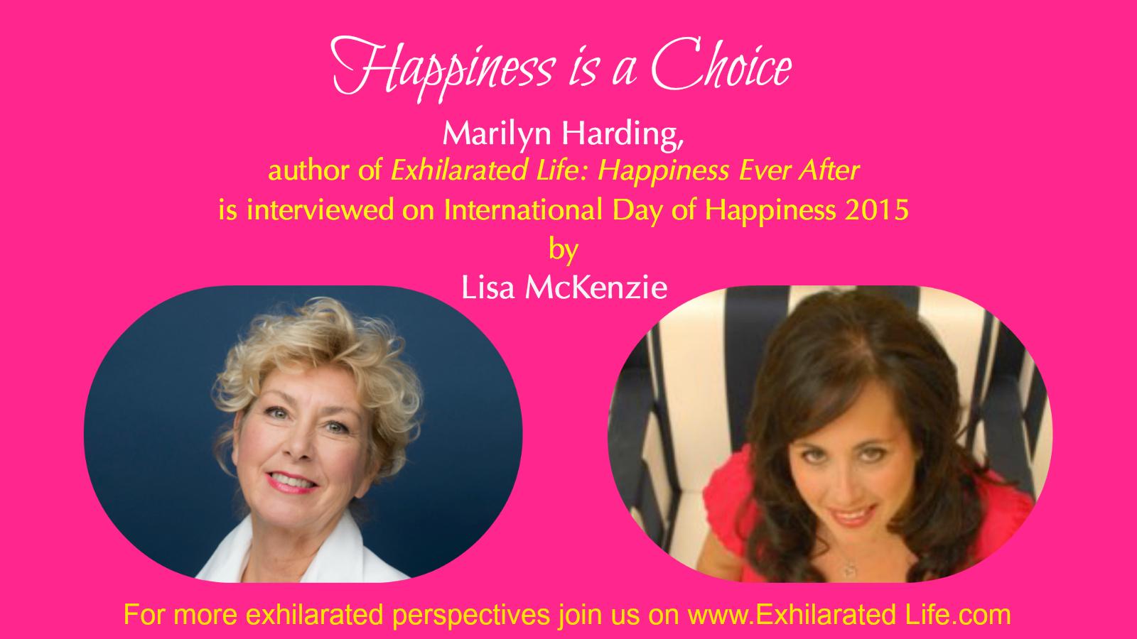 Marilyn Harding with Lisa McKenzie
