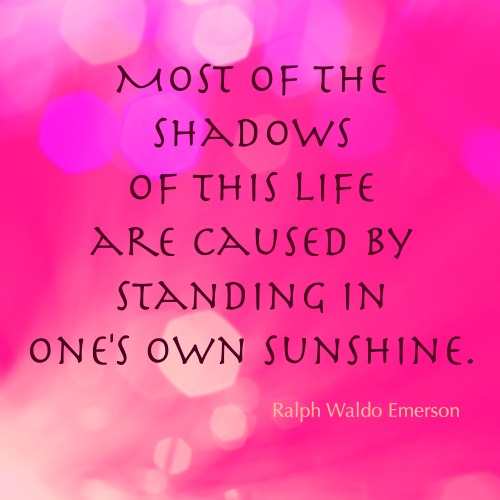 Self-love – beaming your own ray of sunshine.