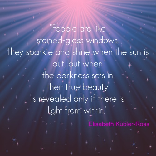 Self-love is the sparkle within.